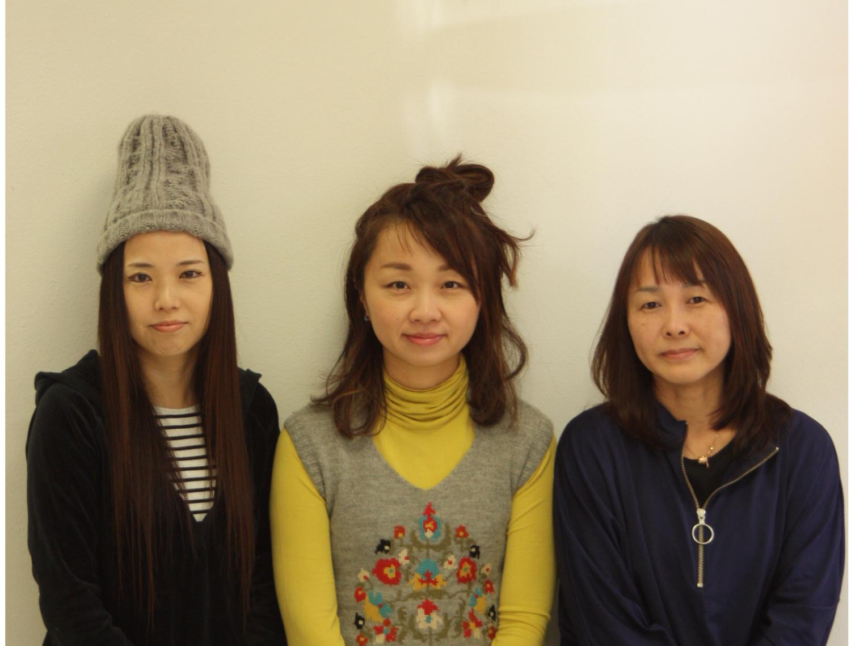 清須 美容室 pono hair スタッフページ アイキャッチ画像